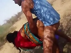 Indian Aunty Outdoor Fucked