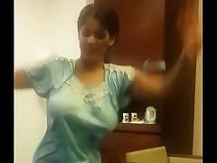 Indian Wed Dancing in hotel room